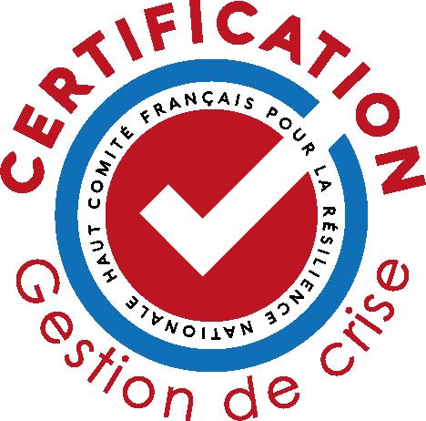 logo certification gestion crise